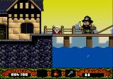The Fantastic Adventures of Dizzy Genesis Confronting a pirate