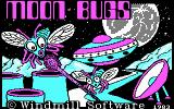 Moon Bugs PC Booter Title screen