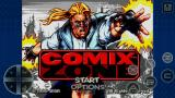 Comix Zone Android Title screen