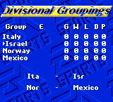 FIFA International Soccer Game Gear Groupings