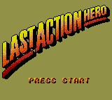 Last Action Hero Game Gear Title screen
