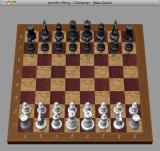Chess - Starting position in the bundled chess game (windows mode)
