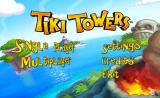 Tiki Towers Wii Main menu
