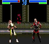 Mortal Kombat 3 Game Gear Using a special technique