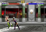 Mortal Kombat 3 Genesis Battle in a temple
