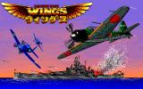 Wings of Fury PC-98 Title screen