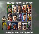 Mortal Kombat 3 SNES Choosing your fighter