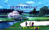 Eight Lakes G.C. PC-98 Title screen