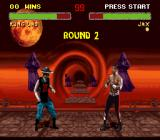 Mortal Kombat II SNES The ghosts are watching