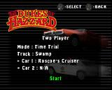 The Dukes of Hazzard: Racing for Home PlayStation Two Player mode.