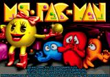 Ms. Pac-Man Genesis Title screen
