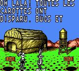 Looney Tunes: Carrot Crazy Game Boy Color Oh lala!