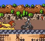 Looney Tunes: Carrot Crazy Game Boy Color Love cycling.