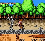 Looney Tunes: Carrot Crazy Game Boy Color Against Elmer Fudd.