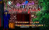 Shufflepuck Cafe PC-98 Title screen
