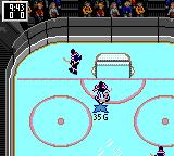 NHL 95 Game Gear Goalie in control