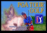PGA Tour Golf Genesis Title screen