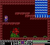 Psychic World Game Gear Before facing a boss - the plant