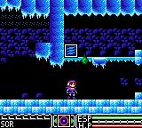 Psychic World Game Gear Ice cave