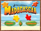 Dreamworks Madagascar: Paint & Create Windows The Title Screen