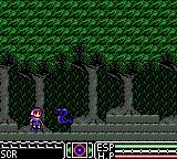 Psychic World Game Gear Forest level