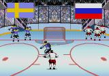 Wayne Gretzky and the NHLPA All-Stars Genesis International match between Sweden and Russia