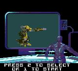 Rise of the Robots Game Gear Choosing your opponent