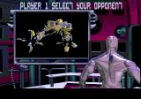 Rise of the Robots Genesis Selecting your opponent