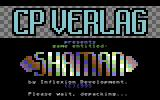 Shaman Commodore 64 Title screen