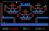 Lode Runner PC-98 That guard is trapped
