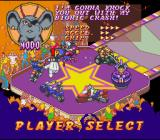 Biker Mice from Mars SNES Choosing a driver