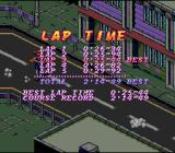 Biker Mice from Mars SNES Lap times