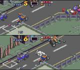Biker Mice from Mars SNES Two-player race