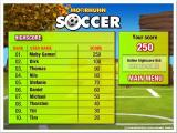 Crazy Chicken: Soccer Windows The high score screen: Focus Multimedia release.<br> In this version of the game high scores could be uploaded