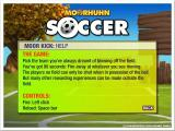 Crazy Chicken: Soccer Windows In game help: : Focus Multimedia release<br> There are slight differences between this help screen and screenshot seven