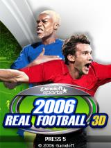 2006 Real Soccer 3D J2ME Title screen