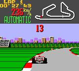 Super Monaco GP Game Gear Nice city ahead