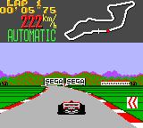 Super Monaco GP Game Gear Sega, Sega!