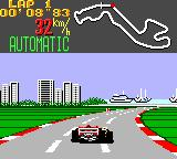 Super Monaco GP Game Gear City and harbor