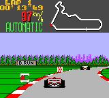 Super Monaco GP Game Gear Strange signs