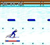 Winter Olympics: Lillehammer '94 Game Gear Skiing merrily