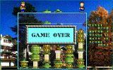 Hatris PC-98 Game over