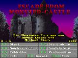 Escape from Monster-Castle DOS Title Screen