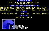 The Duel: Test Drive II DOS Credits