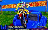 Motorbike Madness Amiga Title screen.
