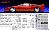 The Duel: Test Drive II DOS Select Your Car - Ferrari