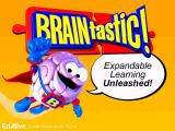 After the company logos comes this BRAINtastic! splash screen