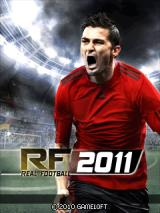 Real Soccer 2011 J2ME Title screen