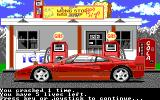 The Duel: Test Drive II DOS Gas Station - Stage 1