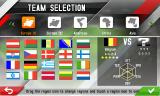 Real Football 2013 J2ME Team selection (Samsung S8000 version)